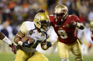 Florida State Seminoles vs. Georgia Tech Yellow Jackets odds and sportsbooks to bet