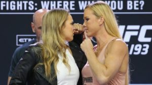 UFC 193 Fight Card - Ronda Rousey vs. Holly Holm Odds