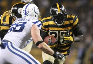 Odds for Indianapolis Colts at Pittsburgh Steelers on Sunday Night Football
