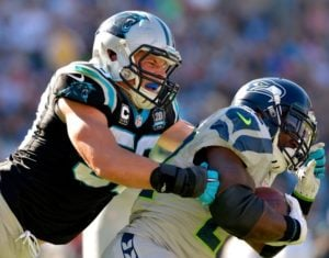 2016 NFL Divisional Playoffs Odds Seattle Seahawks vs. Carolina Panthers