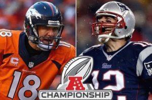 AFC Championship Game Denver Broncos vs. New England Patriots Odds