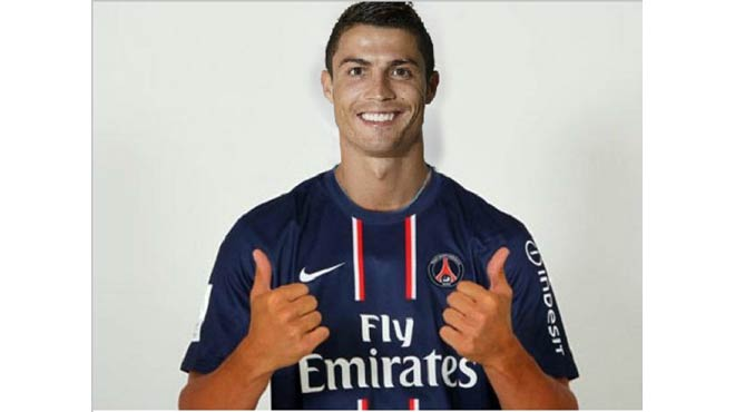 Ronaldo asked his agent for a transfer to PSG