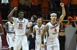 #8 Virginia Tech Hokies Betting favorites at March Madness