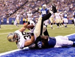 2015 NFL Week 7 New Orleans Saints vs. Indianapolis Colts Odds