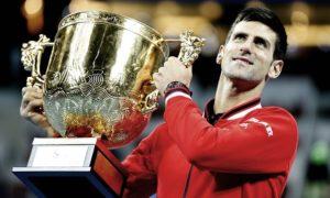 Novak Djokovic beats Rafael Nadal - Beijing Open winning