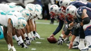 New England Patriots vs. Miami Dolphins Thursday Night Football Week 8 Odds
