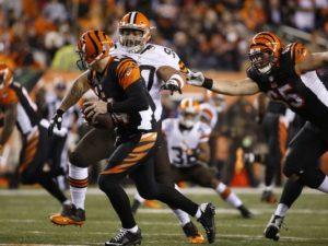 Thursday Night Football Betting Line Cleveland Browns vs. Cincinnati Bengals