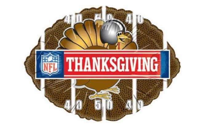 nfl thanksgiving schedule for 2018