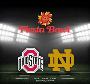 2016 BattleFrog Fiesta Bowl Game Schedule, Odds and Game Predictions - Notre Dame Fighting Irish vs. Ohio State Buckeyes