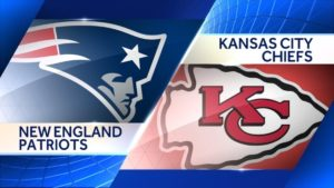 2016  NFL Divisional Playoffs New England Patriots vs. Kansas City Chiefs Odds