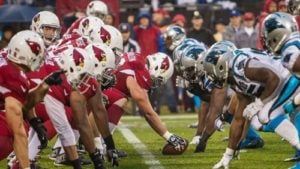 NFC Championshipg game Arizona Cardinals vs. Carolina Panthers betting line
