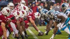 NFC Championshipg game Arizona Cardinals vs. Carolina Panthers betting line