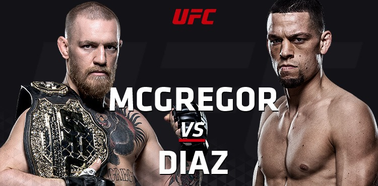 Sportsbooks point to Conor McGregor vs. Nate Diaz new betting fight