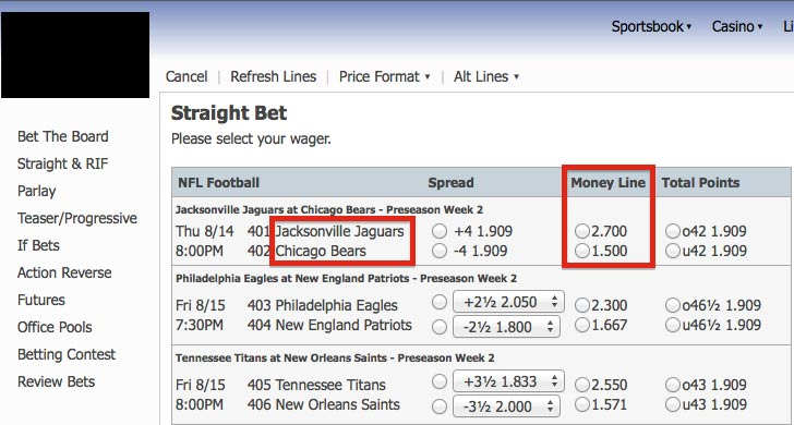 How to Make a Straight Bet