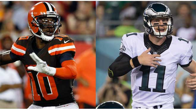 Cleveland Browns vs. Philadelphia Eagles Odds