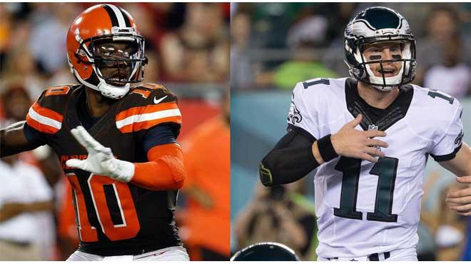 Cleveland Browns vs. Philadelphia Eagles Odds
