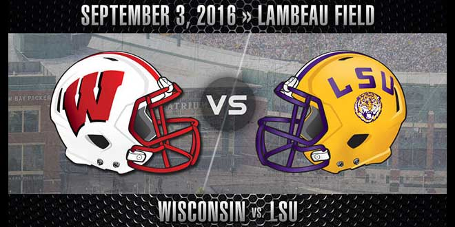 LSU Tigers vs. Wisconsin Badgers Week 1 Odds and Picks