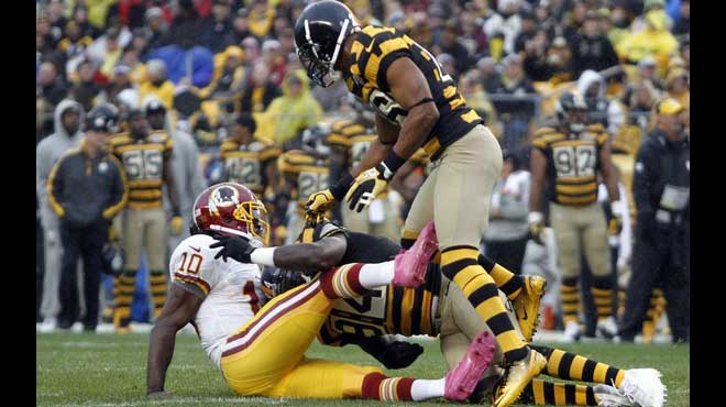 Pittsburgh Steelers vs. Washington Redskins Monday Night Football Odds