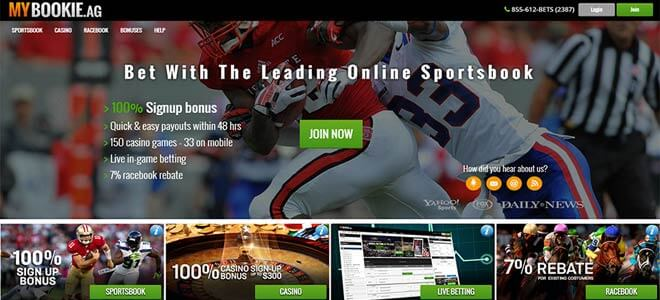 MyBookie Sportsbook Review and Bonuses