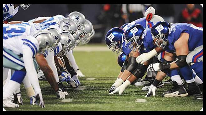 Sunday Night Football Week 2 Updated Betting Line Giants at Cowboys