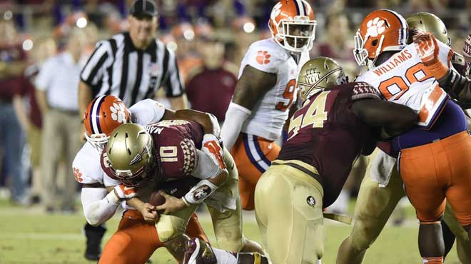 Clemson Tigers vs. Florida State Seminoles College Football Betting Odds and Picks