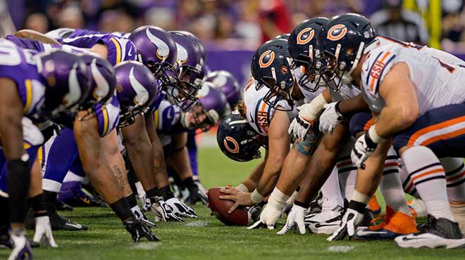 Sunday Night Football Week 11: Odds Favored the Bears vs. Vikings