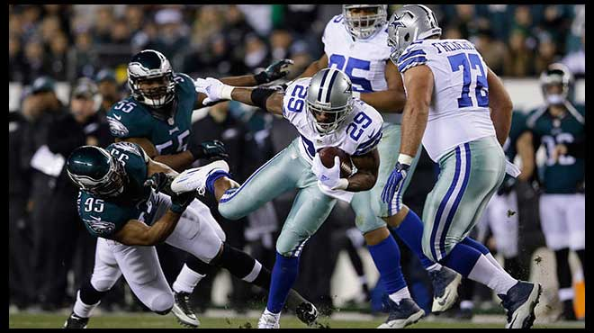Cowboys vs. Eagles NFL Week 7 Odds Reduced For Betting