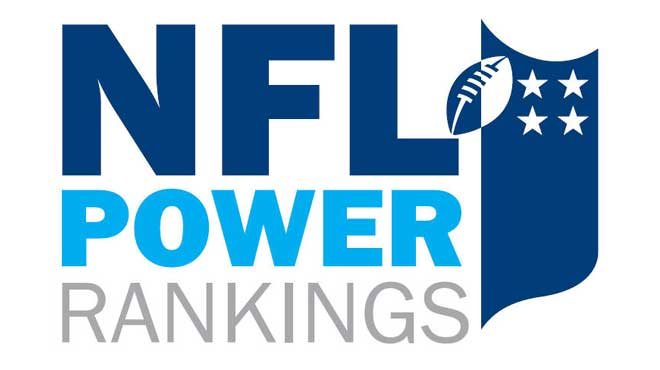 2016 NFL Week 13 Power Rankings