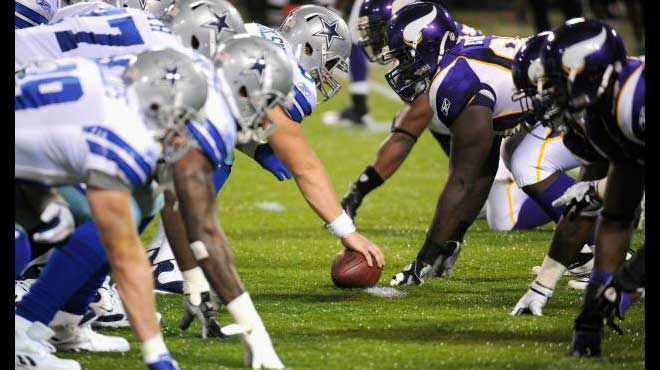 Sunday Night Football Picks:  Vikings vs. Cowboys Reduced Juice Bets