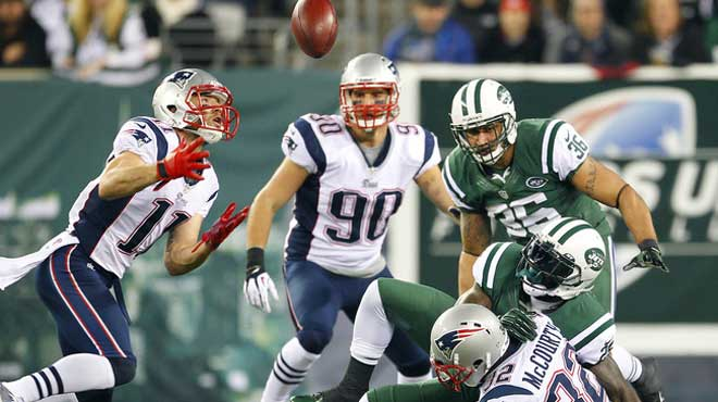 Updated Odds New England Patriots vs. New York Jets NFL Week 12
