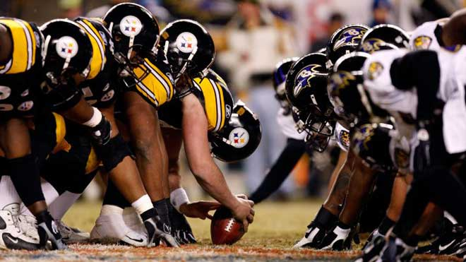 Pittsburgh Steelers vs. Baltimore Ravens NFL Odds