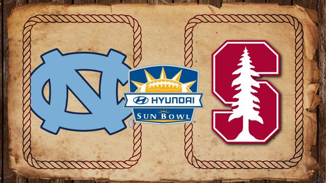 Hyundai Sun Bowl Odds-Stanford vs. North Carolina Picks 2016