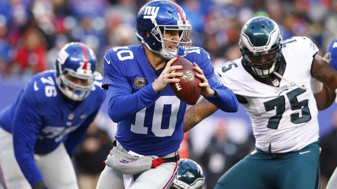 New York Giants vs. Philadelphia Eagles NFL Week 16 Odds
