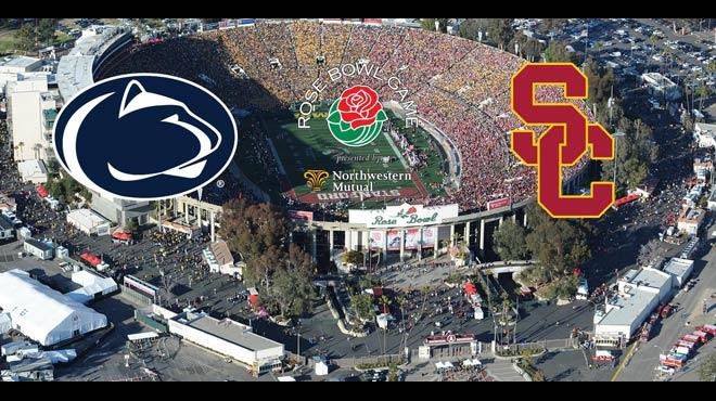 2017 Rose Bowl Odds and Picks – USC vs. Penn State