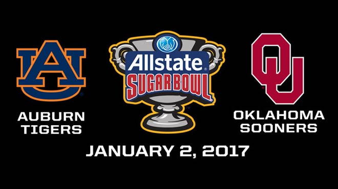 Sugar Bowl 2017 Odds and Picks – Auburn vs. Oklahoma