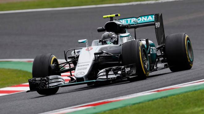 Mercedes to win F1 constructors title
