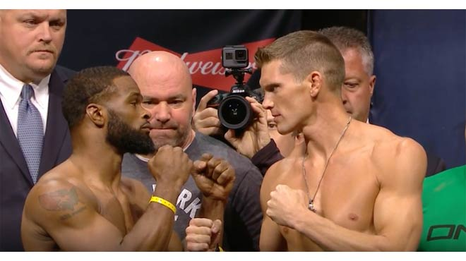 UFC 209 Odds Preview and Predictions - Tyron Woodley vs. Stephen Thompson