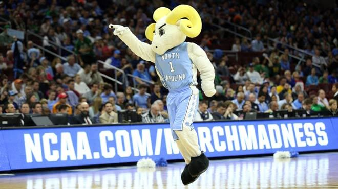 North Carolina Tar Heels favorites at sportsbooks to win the NCAA Men's basketball championship