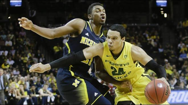 Michigan Wolverines vs. Oregon Ducks Sweet Sixteen Odds