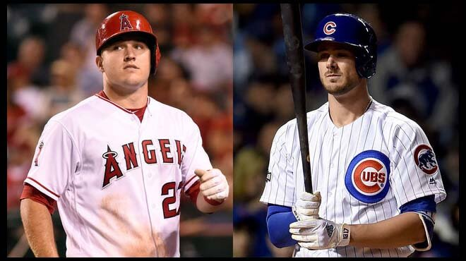 Trout and Bryant favorites to win MVP at sportsbooks