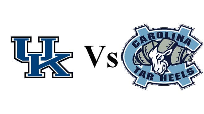 Kentucky Wildcats vs. North Carolina Tar Heels Elite Eight Odds
