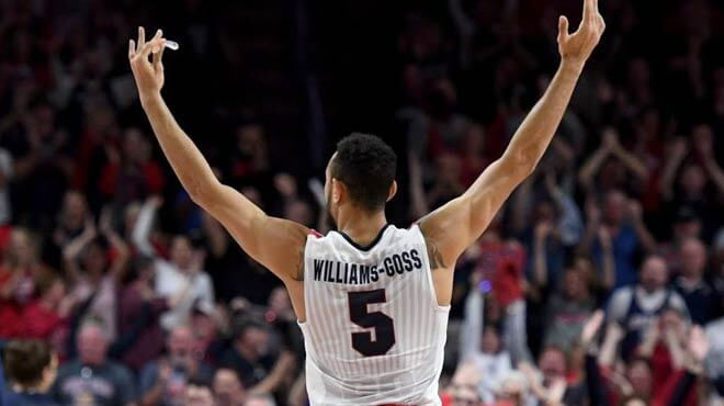 Williams-Goss to win the 2017 NCAA Men's Basketball Tournament Most Outstanding Player award