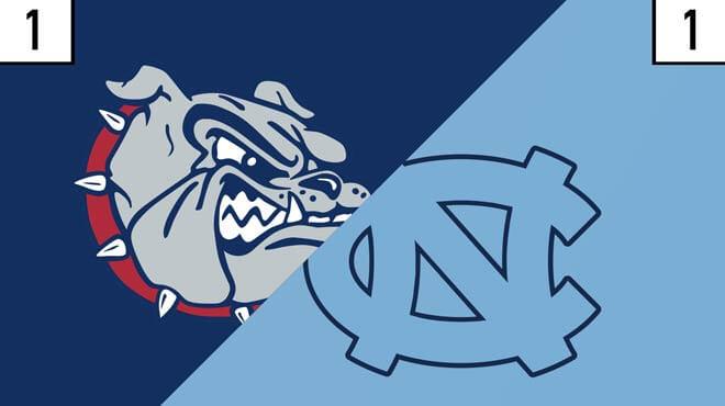 Gonzaga Bulldogs vs. North Carolina Tar Heels Odds - NCAA Tournament, Championship