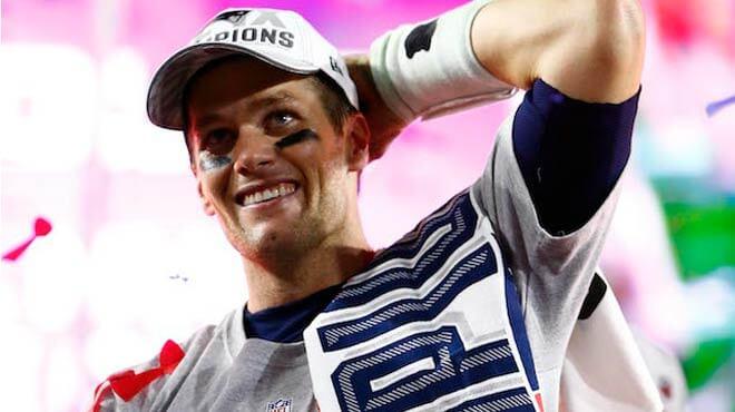 Tom Brady Betting favorite to win 2018 MVP