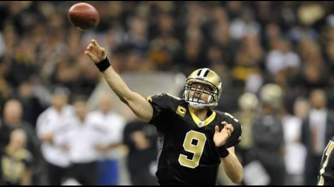 Drew Brees to Lead NFL Passing Yards 2017 Odds