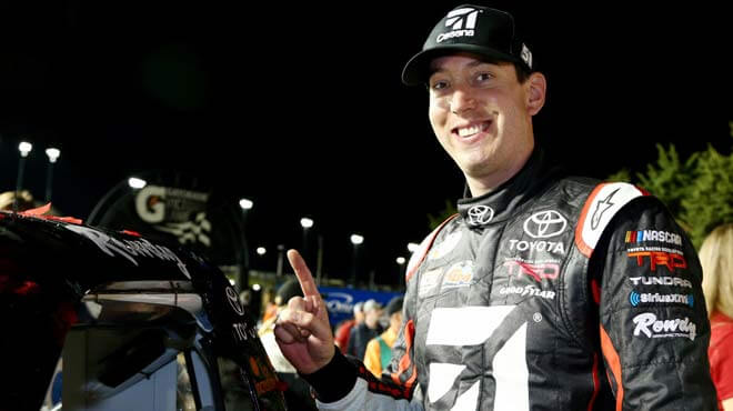 Kyle Busch is the favorite at sportsbooks to win Monster Energy NASCAR 2017, Monster Energy NASCAR 2017, Xfinity Series 2017 U.S. Cellular 250
