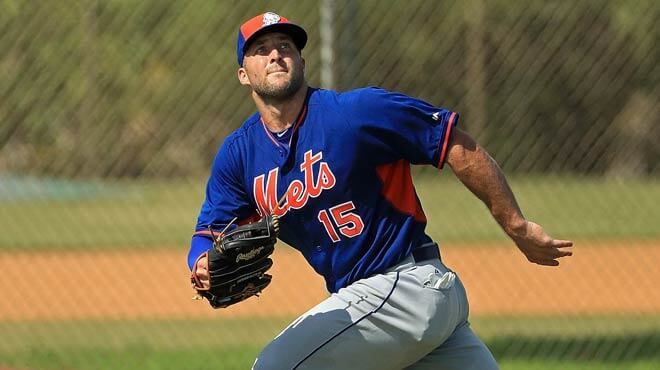 Odds on Tim Tebow playing in Major League Baseball