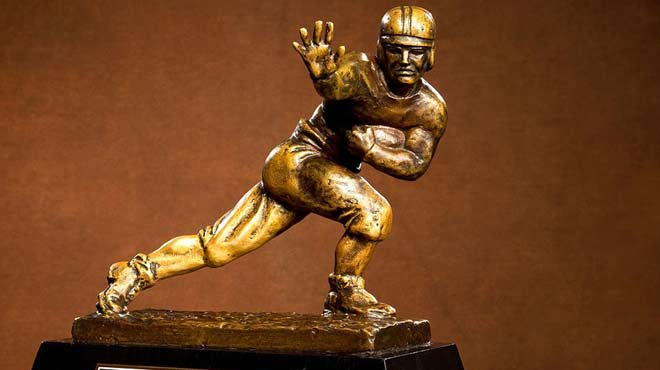 Heisman Thophy Betting Favorites - 2017 edition