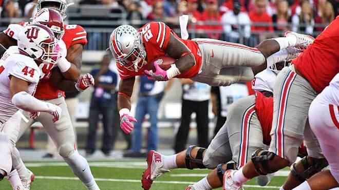 Ohio State Buckeyes vs. Indiana Hoosiers Odds and Best Sportbook Bets