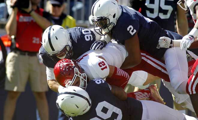 Penn State Nittany Lions vs. Indiana Hoosiers Best Gambling Lines and Predictions